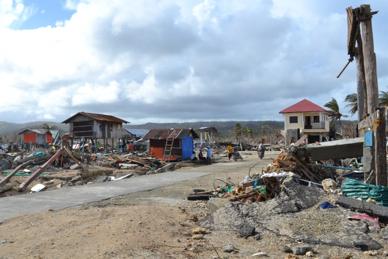 Eastern Samar two weeks after super typhoon Yolanda. Photo by Kristine Sabillo