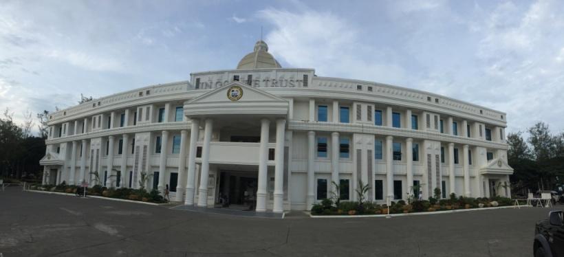 Provincial Capitol of Davao Oriental in Mati City