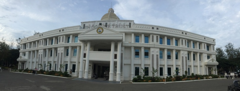 Provincial Capitol of Davao Oriental in Mati City