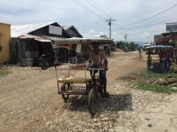 Pedicab in Cateel, Davao Oriental