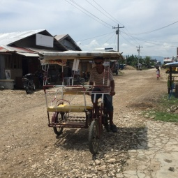 Pedicab in Cateel, Davao Oriental