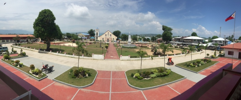 Cateel town plaza