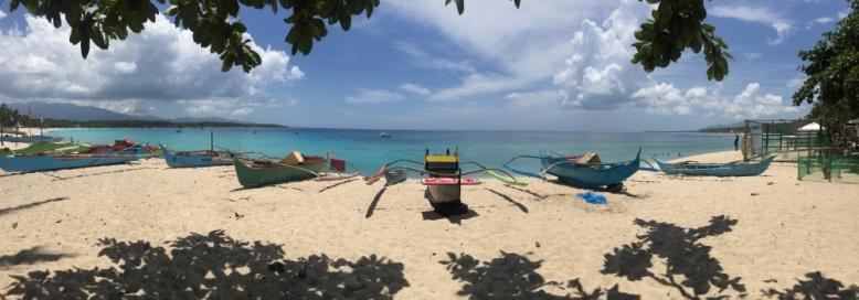 Dahican beach in Mati, Davao Oriental